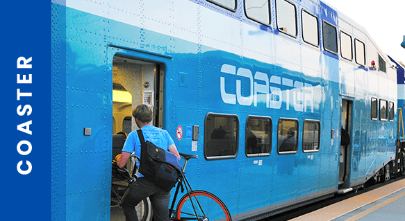 COASTER Commuter Rail Service | NCTD - North County Transit District