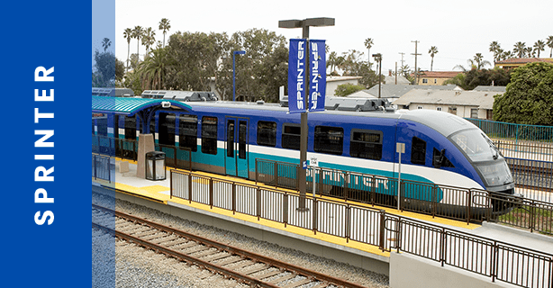 SPRINTER Hybrid Rail Train | NCTD - North County Transit