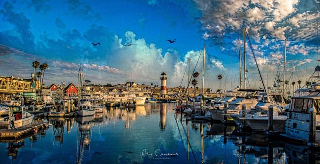 Visit places like Oceanside Harbor!