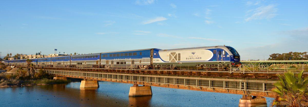 Rail2Rail Ride Amtrak Pacific Surfliner